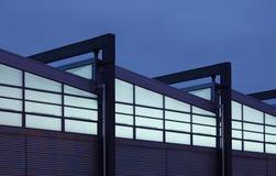 Twilight Fabrik Stockbild