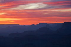 Twilight, Grand Canyon Royalty Free Stock Photography