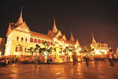 Twilight Grand Palace at dusk Royalty Free Stock Images