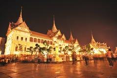 Twilight großartiger Palast an der Dämmerung Lizenzfreie Stockbilder