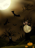 Twilight Halloween Illustration Stock Image
