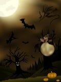 Twilight Halloween Illustration Stock Image