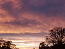 twilight hues royalty free stock images