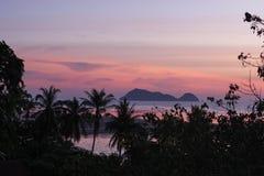 Twilight island. Stock Image