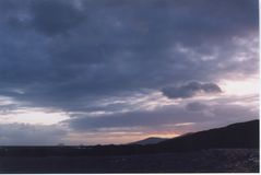 Twilight. In Kerry, Eire Stock Image