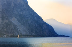 Twilight on the Lake Royalty Free Stock Photo