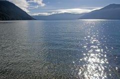 Twilight at Lake Royalty Free Stock Photography
