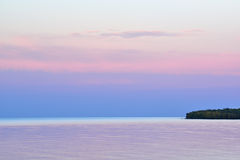 Twilight Lake Superior Royalty Free Stock Images