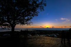 Twilight landscape sunset south korea