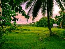 Twilight Landschaft Lizenzfreies Stockfoto