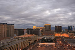 Twilight, Las Vegas Stock Photography