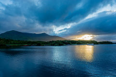 Twilight at Lough Leane in Ireland Royalty Free Stock Image