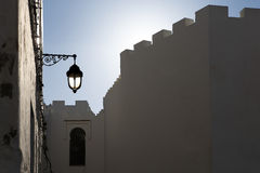 Twilight in Morocco Royalty Free Stock Images