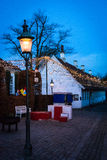 Twilight in the Old Town (V) - Aarhus, Denmark Royalty Free Stock Photography