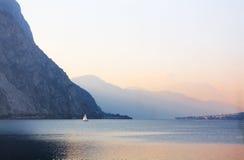 Twilight On The Lake Stock Image