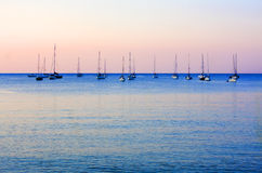 Twilight On The Sea Royalty Free Stock Photography