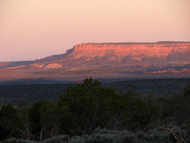 Twilight Over the Mountain Royalty Free Stock Photography