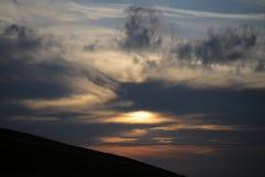 Twilight overcast Stock Image