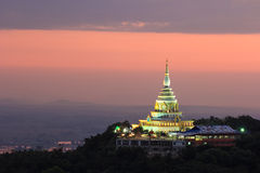 Twilight pagoda Stock Images