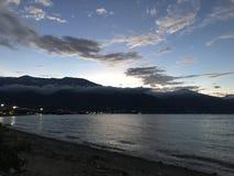 Twilight. At Palu City Royalty Free Stock Photos