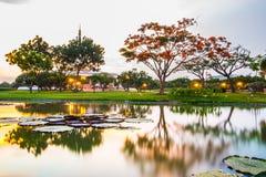 Twilight Pavilion landmark of Suan Luang Rama IX Public Park, Bangkok. Stock Photography