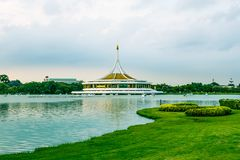 Twilight Pavilion landmark of Suan Luang Rama IX Public Park. Twilight Pavilion landmark of Suan Luang Rama IX Public Park, Bangkok, Thailandd Royalty Free Stock Photo