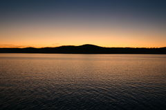 Twilight Reflection over Table Rock Lake Royalty Free Stock Image