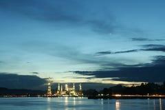 Islamic and sunrise royalty free stock photo