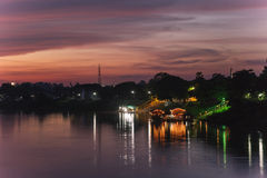 Twilight Riverside. Royalty Free Stock Images