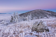 Twilight on Roan Stock Image