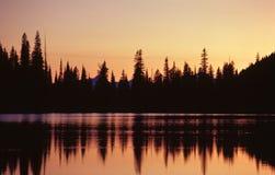 Twilight in the rockies Stock Photo