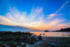 Twilight at samui Stock Photo