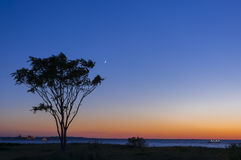 Twilight Sandy Hook Stock Images