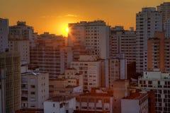 Twilight in Sao Paulo Stock Photos