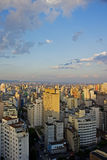 Twilight in Sao Paulo. Twilight in the city of Sao Paulo Brazil Royalty Free Stock Image