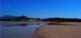 Twilight in Sardinia Royalty Free Stock Photography