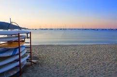Twilight on the sea Royalty Free Stock Image