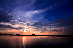 Twilight Sky beauty Sunset Sunrise Stock Photography