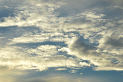 Twilight sky Stock Photography