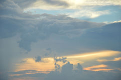 Twilight sky Stock Photos