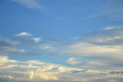 Twilight sky Royalty Free Stock Image