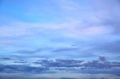 Twilight sky Stock Images