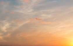 Twilight sky Royalty Free Stock Photo