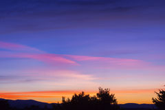 Twilight sky Royalty Free Stock Photography
