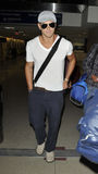 Twilight star actor Kellan Lutz is seen at LAX Stock Image