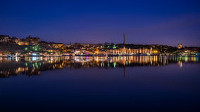 Twilight in Stockholm Royalty Free Stock Photo