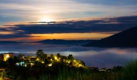 Twilight sunrise Stock Image