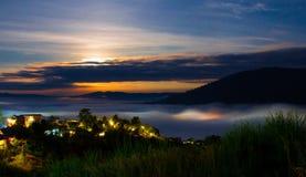 Twilight sunrise Stock Photography