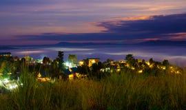 Twilight sunrise Royalty Free Stock Image