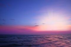 Twilight sunset Royalty Free Stock Photo